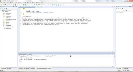 InfoQ: SharpDevelop 4.2: Now with Improved ASP.NET MVC 3 Support | AspNet MVC | Scoop.it
