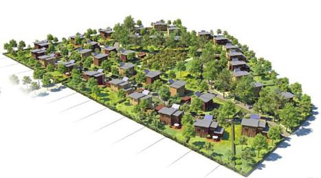 Un projet PILOTE de 35 maisons bioclimatiques innovantes | Immobilier | Scoop.it