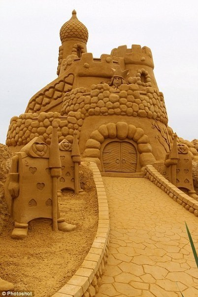 Incredible pictures of the world's most intricate sandcastles - Homokszobor képek | Fantasy and art – Művészet | Scoop.it