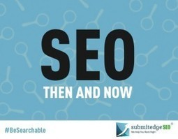 SEO Then and Now - Business 2 Community | arzun | Scoop.it