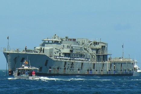 Enfonsar un vaixell per crear un escull | wikiNoticia | velers | Scoop.it