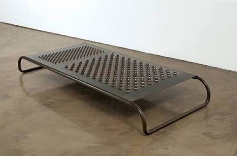 Mona Hatoum: Daybed | Art Installations, Sculpture, Contemporary Art | Scoop.it