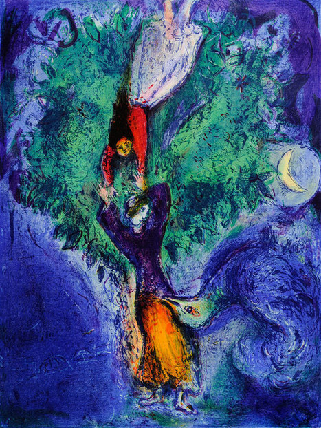 Marc Chagall y el Árbol de la vida | CAU | Scoop.it