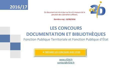 Concours Documentation - Bibliothèques | La vie des BibliothèqueS | Scoop.it