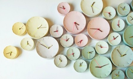 Horloges en porcelaine Femke Roefs   la Mode i love it   Scoop.it