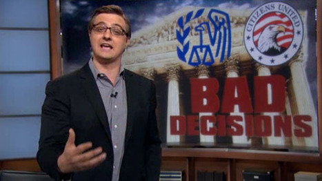 Chris Hayes explains why Citizens United is the real scandal behind the IRS scandal | The Raw Story | Coffee Party News | Scoop.it