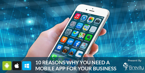 10 Smart Reasons to Build a Mobile Application for Your Business | Web and Mobile App Development Company | Scoop.it