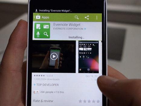 Google Play 4.0 : une vidéo de la prochaine version de l'application ... | Applications Iphone, Ipad, Android et avec un zeste de news | Scoop.it