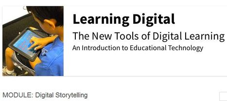 The New Tools of Digital Learning-MODULE: Digital Storytelling | Curated Collection of Digital Artefacts: Assignment 1 EDEL 20001 | Scoop.it