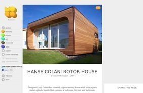 Hanse Colani Rotor House | Design | Scoop.it