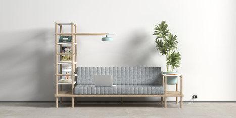 A Multifunctional Sofa Named Herb - Design Milk   Industrial Design   Scoop.it