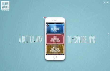 26 sites d'applications mobiles pour votre inspiration | Web design and presentation | Scoop.it