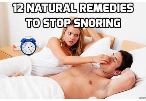 12 Ways to Stop Snoring and Treat Sleep Apnea | How To Have A Better Sex Life | Scoop.it