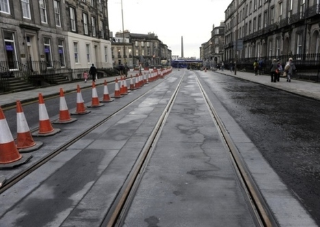 Edinburgh trams: Section of track to be ripped up - Transport - Scotsman.com | Today's Edinburgh News | Scoop.it