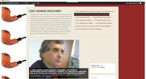 3. LA GRANDE DISCOVERY . Brogliacci con audio e video. Aggiornato. | Paolo Ferraro CDD Grandediscovery | CDD | Scoop.it