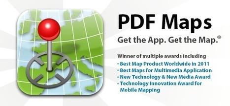 Geoinformación: PDF Maps: Trabaja con tus propias imágenes georeferenciadas desde tu móvil. | Geolocalización y Realidad Aumentada en educación | Scoop.it