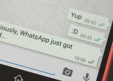 Averigua quiénes leen los mensajes en un grupo de WhatsApp | AppAndroid | Scoop.it