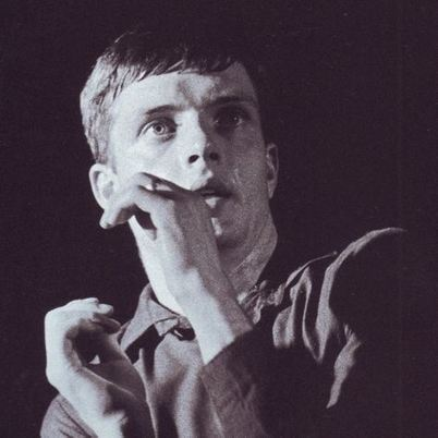 PHOTO: Ian Curtis of Joy Division - The Factory:Russell Club, Manchester, 13.07.1979 | SongsSmiths | Scoop.it
