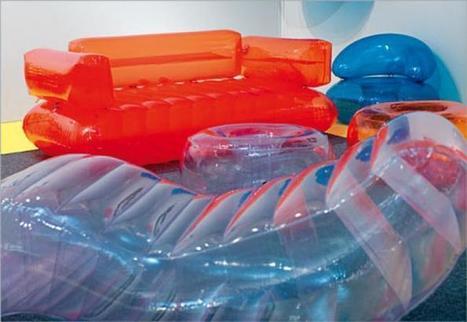 Quasar Khanh réinvente le mobilier gonflable : la collection aerospace | Quasar Khanh: designer visionnaire | Scoop.it