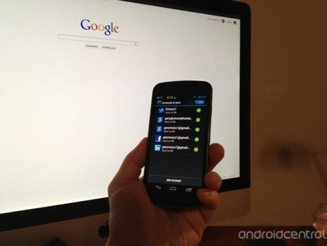 How to sync your Galaxy Nexus with your Google account | Android | Scoop.it