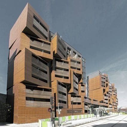 [Paris, France] Basket Apartments - OFIS architects | The Architecture of the City | Scoop.it