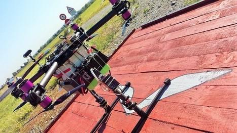 Un mini transpondeur ADS-B pour les drones - Aerobuzz | Fédération Belge du Drone civil | Scoop.it