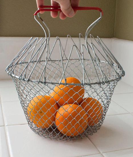 Vintage Metal Egg Basket   Chummaa...therinjuppome!   Scoop.it