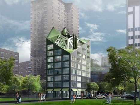 Seven Mico-Living Proposals From The adAPT NYC Competition | green streets | Scoop.it