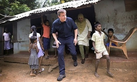 Tamils hail David Cameron as 'god' but Sri Lankan president is not a ...   The Voice   Scoop.it