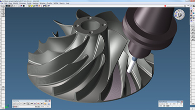 GibbsCAM Simplifies Machining Turbomachinery Components | e-Manufacturing Additive & Digital technology | Scoop.it