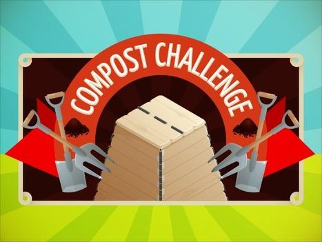 Compost challenge, pour apprendre à trier ses déchets et gérer un composteur | Ecologie & société | Scoop.it