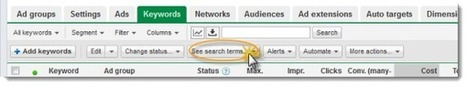 How To Use The AdWords Search Term View To Optimize Keywords & Negatives | Web Analytics and Web Copy | Scoop.it