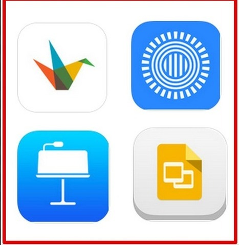 Top 4 iPad Apps for Making Presentations and Slideshows | Web tools to support inquiry based learning | Scoop.it