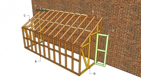 Lean to greenhouse plans | Free Outdoor Plans - DIY Shed, Wooden Playhouse, Bbq, Woodworking Projects | letterbox plans | Scoop.it