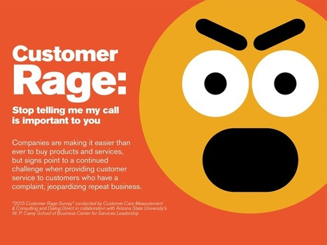 Seven Effective Practices For Preventing Customer Rage | Services Leadership Digest | Scoop.it