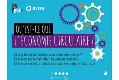 Une infographie inédite pour mieux comprendre l'économie circulaire   Economie en BTS   Scoop.it