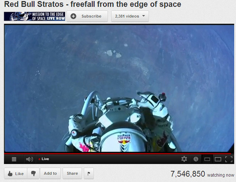 24-mile skydive breaks into social stratosphere, redefines event marketing - Lost Remote | Social-Media-Storytelling | Scoop.it