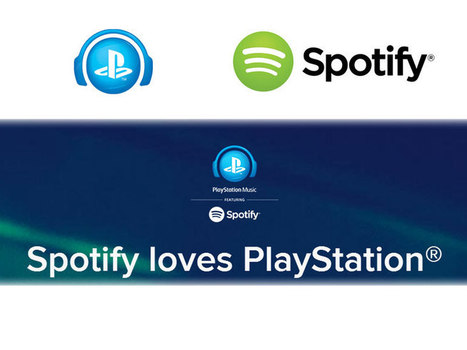 Sony stoppe Music Unlimited et lance PlayStation Music avec Spotify | Musique et Innovation | Scoop.it