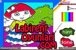Dora Boyama | oyunlar,oyun oyna,bedava oyunlar,labirent oyunları | Scoop.it