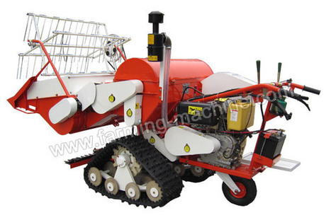 Walking-type Small Rice Harvester, Relieve Farmers from Heavy Paddy Harvesting Work | Farming Machine | Scoop.it