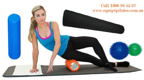 Foam Roller is perfect for balance exercises | Equip 4 Pilates - Pilates Equipment | Scoop.it