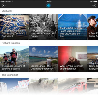 LinkedIn Pulse is the news app tailored to you. | Veille numérique | Scoop.it