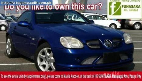 For Earnest Sale 1997 Mercedes Slk 230 Imported - Secondhand For Sale Philippines - 32875292 | ASAP Sale Refined Style, Mercedes SLK 230 (Japan Imported) | Scoop.it
