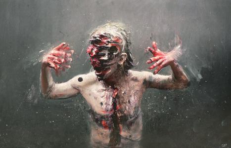 Olivier de Sagazan | Painter | Sculptor | Performer | les Artistes du Web | Scoop.it