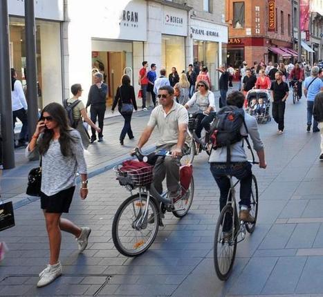 Vélos-autos-piétons, comment cohabiter à Toulouse ? - LaDépêche.fr | Mobilité durable | Scoop.it