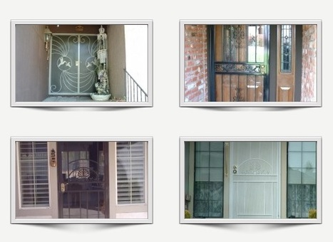 Iron Security Gates | Ornamental Iron | Wrought iron fencing | Driveway gate | Scoop.it