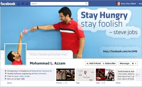 40 Creative Examples of Facebook Timeline Designs | inspirationfeed.com | SM | Scoop.it