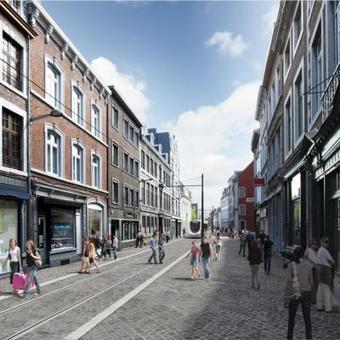 Un tram sans pierre wallonne? | Architecture - Construction | Scoop.it