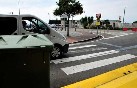 Contenedores y coches hacen de algunos pasos de peatones ´puntos negros´ viales   #Talleres   Scoop.it