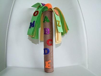 Chicka Chicka Boom Boom Coconut Tree Craft For Kids | Kiboomu | Kindergarten | Scoop.it
